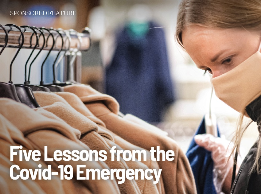 Five lessons from the COVID-19 emergency